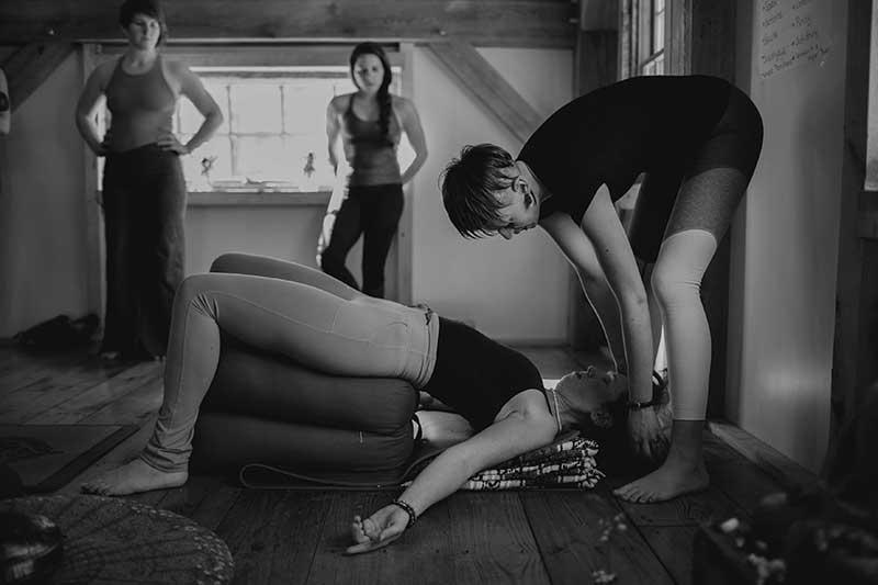 yoga teacher adelaide gross